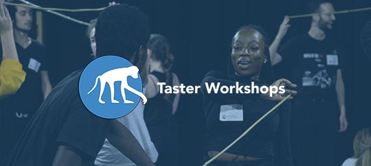 Free monthly Taster Workshops held at the Monkey House